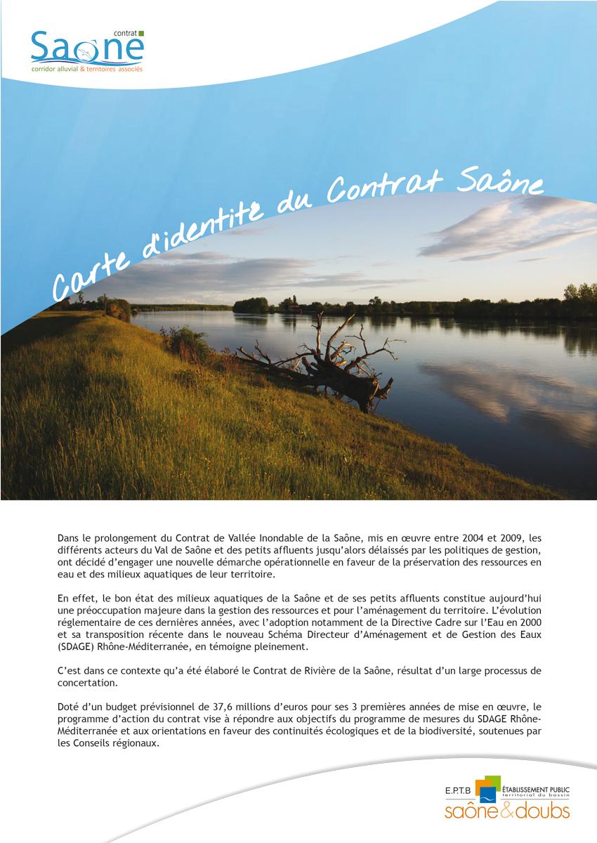 Plaquette CR Saône 2016