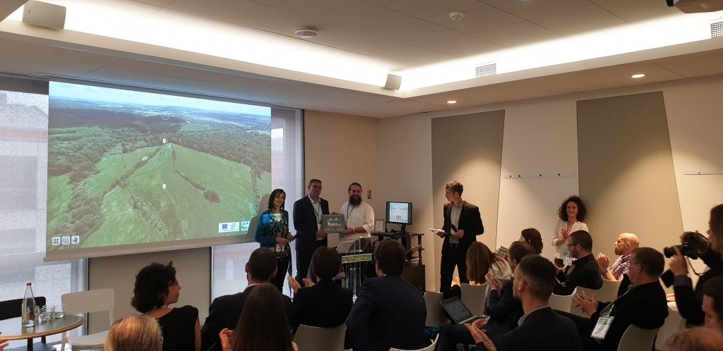 La Noue Rouge reçoit le Grand Prix Natura 2019