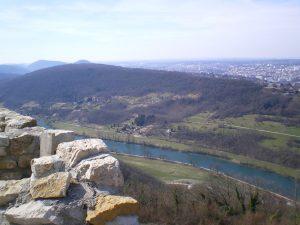 Vue Ruine du chateau, Montfaucon