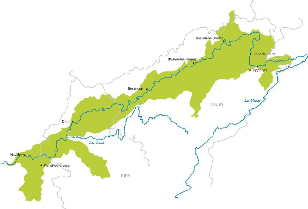 Territoire CR Doubs avec nouveaux territoires
