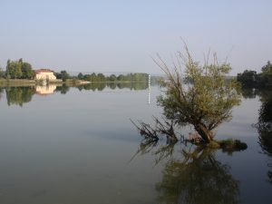 La Saône paisible dans l'Ain