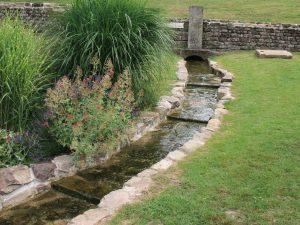 Source de la Saône à Vioménil, dans les Vosges